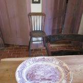 Pastoral Davenport transferware platter